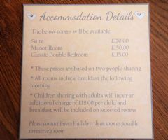 Accommodation Details